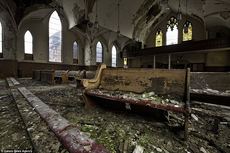 Abandoned Church Building