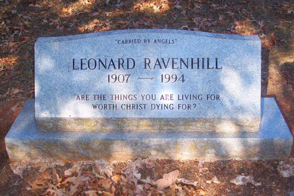 LeonardRavenhill-grave