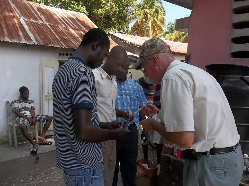 Andy Roemer Haiti Missionary Humanitarian Aid Worker